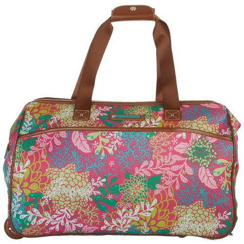 Lily Bloom 20   Floral Reef Wheeled Duffel Bag  78e2986a38be2