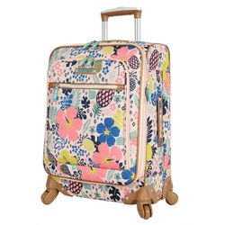 Lily Bloom 20'' Tropical Pineapple Spinner Luggage