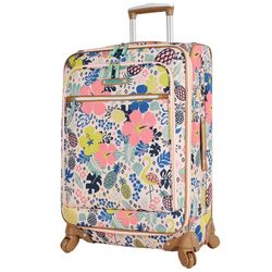 Lily Bloom 24'' Tropical Pineapple Spinner Luggage