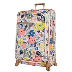 Lily Bloom 28'' Tropical Pineapple Spinner Luggage