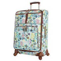 Lily Bloom 24'' Aquarium Life Spinner Luggage