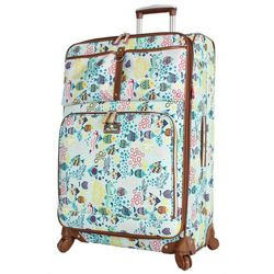 Lily Bloom 28'' Aquarium Life Spinner Luggage