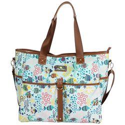 Lily Bloom Aquarium Life Tote Bag