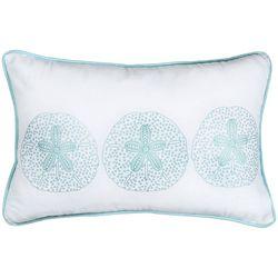CHF Surfside Sand Dollar Decorative Pillow