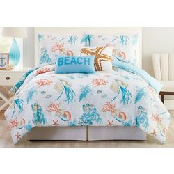 Phi Coastal Collection Atlantis Comforter Set