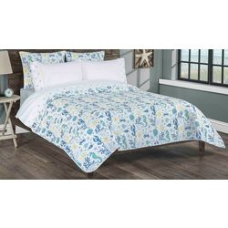 Palm Cove Clearwater Quilt & Sheet Set