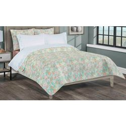 Palm Cove Shells Quilt & Sheet Set
