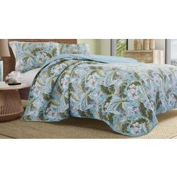 Tommy Bahama Key Largo Quilt Set
