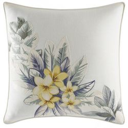 Tommy Bahama Cuba Cabana Floral Square Pillow