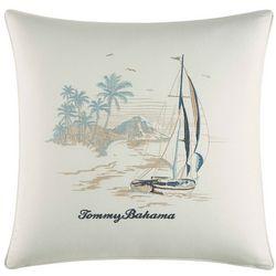 Tommy Bahama La Prisma Stripe Scenic Decorative Pillow