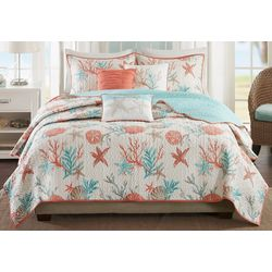 Madison Park Pacific Grove 6-pc. Quilt Set