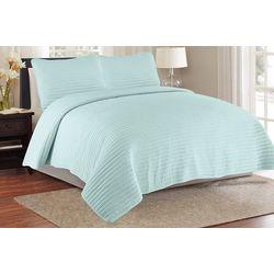 CHD Home Textiles Pickstitch Quilt Set