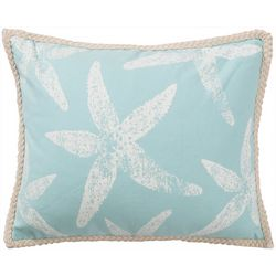 Saltwater Home St. Anton Starfish Rope Decorative Pillow