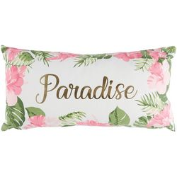 Saltwater Home Tropical Breeze Paradise Leaves Pillow