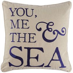 Saltwater Home Morro Bay The Sea Decorative Pillow