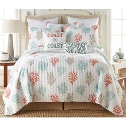 Saltwater Home Coral Gables Quilt Set