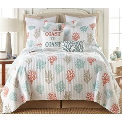 Saltwater Home Coral Gables Quilt Set