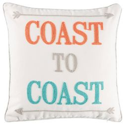 Saltwater Home Coral Gables Coast To Coast Decorative Pillow