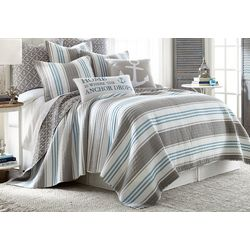Levtex Home Anchor Stripe Quilt