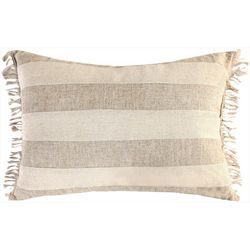 Saltwater Home Pieced Linon Decorative Pillow