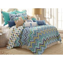Coastal Sea Breeze Quilt Set