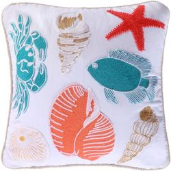 Coastal Cyprus Coastal Motif Decorative Pillow