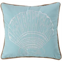 Saltwater Home Icaria Shell Decorative Pillow