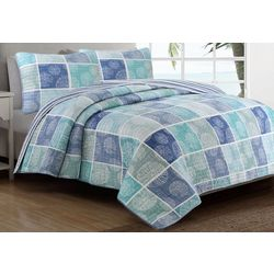 Coastal Living Coastal Sand Dollar Quilt Set
