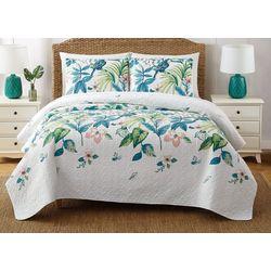 Oceanfront Resort Tropical Paradise Quilt Set