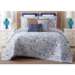 Oceanfront Resort Indienne Paisley Quilt Set