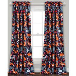 Lush Decor Special Edition Pixie Fox Window Curtain
