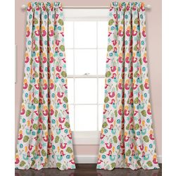 Lush Decor Special Edition Mermaid Waves Window Curtain Set