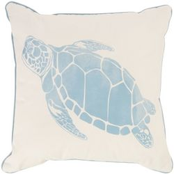 Triangle Home Fashions Ocean Turtle Decorative Pillow