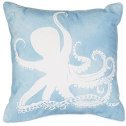 Lush Decor Special Edtn Watercolor Octopus Decorative Pillow