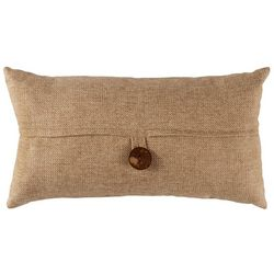 Triangle Home Fashions Clayton Button Decorative Pillow