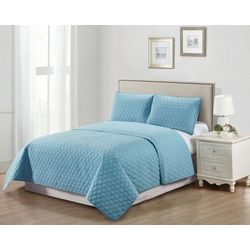 Casual Living Tile Pinsonic 3-pc. Quilt Set