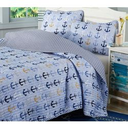 Tackle & Tides Anchors Away Quilt Set