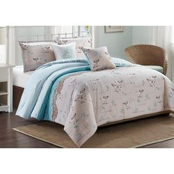 Coastal Home Sandpiper Comforter Set