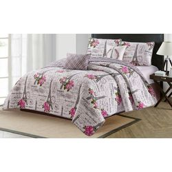 Harper Lane Vintage Paris Quilt Set