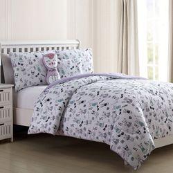 Sanctuary Kids Cat Nap Comforter Set