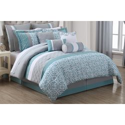 S.L. Home Fashions Elaina 22-pc. Comforter Set