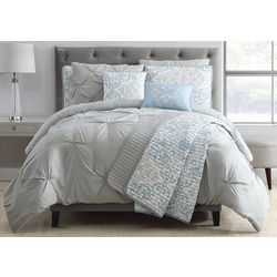 S.L. Home Fashions Reya Comforter Set