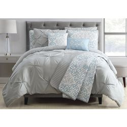 S.L. Home Fashions Reya Comforter Set