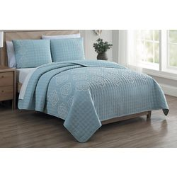S.L. Home Fashions Ruby Quilt Set