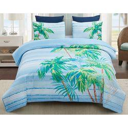 Coastal Home Bora Bora Quilt Set