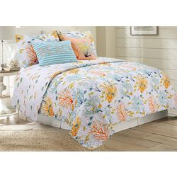 Coastal Home Libby Quilt Set
