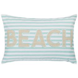 Coastal Home Libby Striped Beach Decorative Pillow