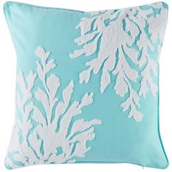 Coastal Home Graphic Seaweed Decorative Pillow