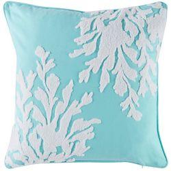 Coastal Home Graphic Seaweed Decorative Pillow