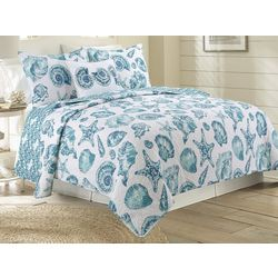 Elise & James Home Sally Shells Quilt Set